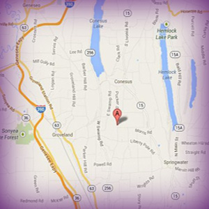 Conesus Small Group Map